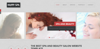 Free-Spa-and-Beauty-Salon-website-template