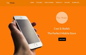 Mobile-Store-Salon-website-template